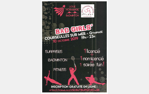 Bad Girls' Night à Courseulles-sur-Mer le 10 octobre 2019